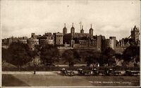 London Großbritannien England s/w AK ~1940 The Tower general view  ungelaufen