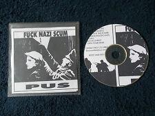 Rare Promo, P.U.S. (Punx Underpants Smell) - Fuck Nazi Scum, 21 Track CD, Punk