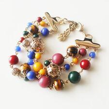 "New 7.5"" Loft Beads Cluster Statement Bracelet Gift Fashion Women Party Jewelry"