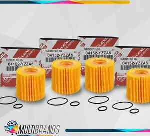 Toyota Oil Filter 04152-YZZA6 PACK of 4 - SAME DAY SHIPPING