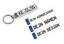 Auto Schlüsselanhänger mit KFZ Kennzeichen