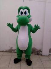 Yoshi Mario Bros Mascot Costume Character Cosplay Party Birthday Halloween Event