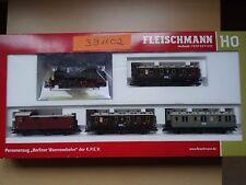 """Fleischmann HO Art 391102  So-Serie """"Berliner Wannseebahn""""  AC, Dig   - Neuware"""