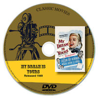 My Dream is Yours - Jack Carson,Doris Day Romantic Comedy Musical Film 1949 DVD