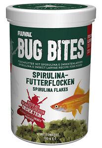 Fluval Bug Bites - Flocken-Futter - Spirulina-Futter 33.8oz/180gr New