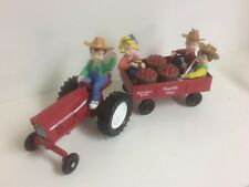 Campbells soup Tractor, Wagon with Kids By Ertl Collectibles