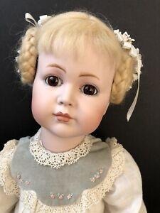 Vintage Reproduction of Simon Halbig 117 Kammer Reinhardt Doll by Donna Frame