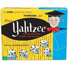 Classic Yahtzee Famous Exciting Dice Game of Skill and Chance New Sealed in Box