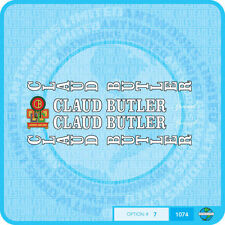 Claud Butler Bicycle Decals Transfers Stickers - Set 7