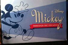 Giant Mickey Mouse Poster Disney Through The Decades Rare