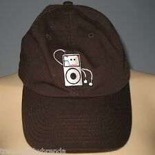 iPod Baseball Hat Cap Funny Parody iCud from COWS P.E.I. Adult One Size Brown
