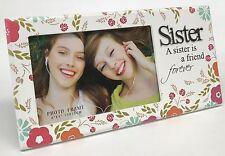 """Sister"" Picture Photo Frame Gift Idea for sister Premium Handmade"