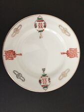 Vintage Chinese Appetizer Plates Made In Taiwan Republic Of China