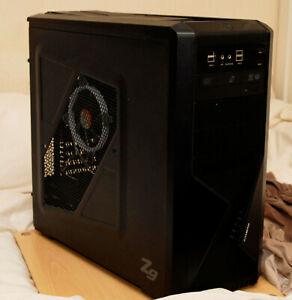 CUSTOM PC TOWER i5 16GB RAM 120GB SSD 3TB HDD Wifi Windows 10