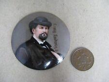 Antique porcelain miniature King Ludwig II