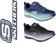 Skechers de Mujer Skech Air elemento Zapatos en Azul o Negro