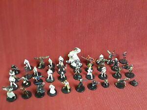 40 rare figure Star Wars Miniature lot Wizard wotc Coast collection rpg vtg gift
