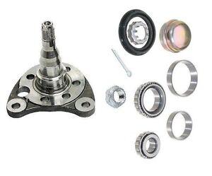 For Corrado Golf Jetta Passat Left Rear Stub Axle Spindle W/ Bearing Kit & Nut