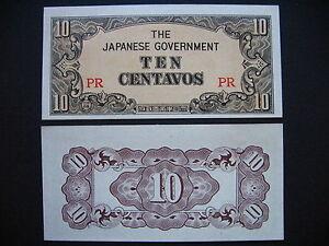 PHILIPPINES  10 Centavos 1942  (P104a)  UNC