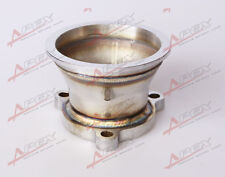 "UNIVERSAL STAINLESS STEEL 2.5"" 3 BOLT TO 3.0'' V-BAND TURBO DOWNPIPE ADAPTE"