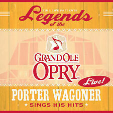 CD Legends of the Grand Ole Opry Live by Porter Wagoner 2007 Time Life