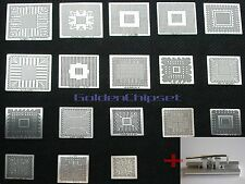18PCs Direct Heated BGA Stencil Template Commonly used+ One Station mcp67mv-a2