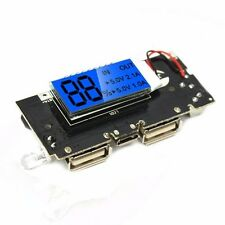 USB 5V 1A 2.1A Mobile Power Bank PCB 18650 Battery Charger Module with LCD