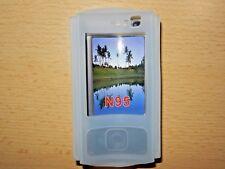 Silikon Hülle Nokia N95 Tasche Slide Handy Cover Handytasche Silicon Schutzhülle