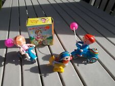 Vintage Wind Up Toys, Lot of 3 Different