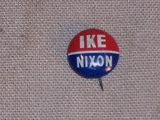 Vintage Eisenhower IKE and Nixon Dick Election Button Pin Badge Political L@@K