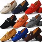 US 6-10 seude Leather Mens Comfort tassel Loafer slip on mens driving car shoes