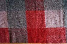 041112 Boiled wool Fabric Diamond Shaped Pink Loden Walkstoff 1m x 1,6 m