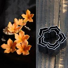 3Pcs/set Metal Flower Cake Cookie Cutter Mold DIY Cooking Craft Baking Mould New