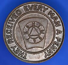 More details for bronze masonic medallion