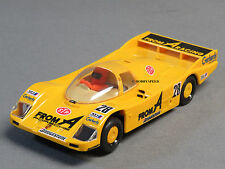 SCALEXTRIC 1/32 PORSCHE 962 SLOTCAR car yellow FROM A racing stp #28 ISI 304