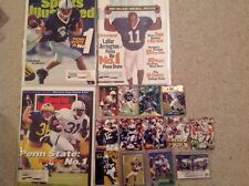 Penn State Clipping Rookie Card Magazine Lot Carter Collins Hunt Lavar McDuffie