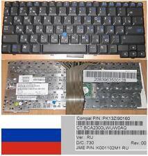 CLAVIER QWERTY RUSSE HP NC4400 NC4200 PK13ZI90160, K001102M1  Noir