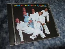 """THE PLATTERS CD """"GOLDEN HITS"""" 1986 POLYGRAM RECORDS"""