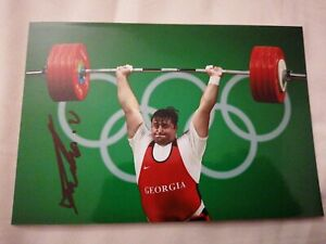 Irakli Turmanidze - GEO - Olympia 2016 - Gewichtheben - Bronze - Foto (2)