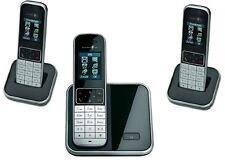 T-Sinus 605 Trio Schnurlos Telefon mit 3 Mobilteilen Schnurloses Gerät Handteile