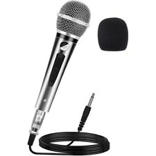 Wired Dynamic Microphone Karaoke KTV Handheld Vocal Mic With 13Ft 6.35Mm XLR