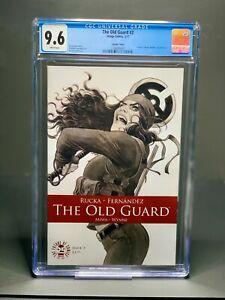 Old Guard #2 2nd Print CGC 9.6 Image Comics Charlize Theron Greg Rucka 2017