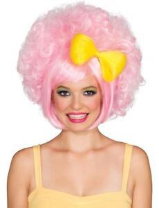 Pastel Pink Cutie Doll Wig Halloween Adult Costume Accessory Harajuku Anime