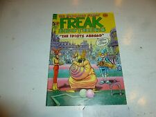 FABULOUS FURRY FREAK BROTHERS Comic - No 9 - Date 1985 - Ripp Off Press