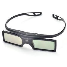 Unversal DLP-LINK Active Shutter 3D Glasses 96-144Hz F Optoma BenQ Acer US Stock