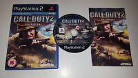 * Sony Playstation 2 Game * CALL OF DUTY 2 BIG RED ONE * PS2
