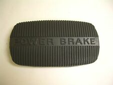 1958-1968 Impala Belair Biscayne Brake Pedal Pad Power Brake Automatic Made USA