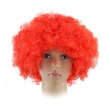Rote Perücken & Haarteile für Erwachsene Kunst Echthaar -