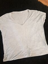 ladies teeshirt size medium by zara, colour grey