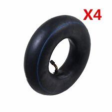 4.10/3.50-4 Inch Tyre Inner Tube For Pneumatic Wheel Trolley Wheel Bent Valve x4